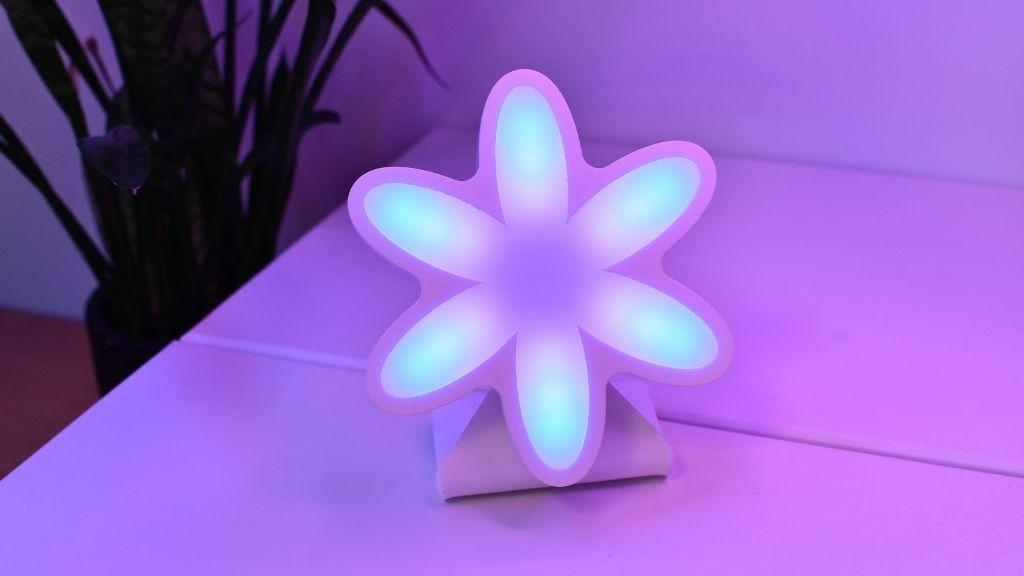 Animation lumineuse du mode relaxation de Flower par Ullo